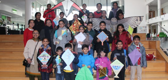 Celebrating Makar Sankrati with our Kites and Lanterns